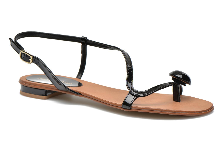 Sandales et nu-pieds Georgia Rose Calindda Noir vue détail/paire