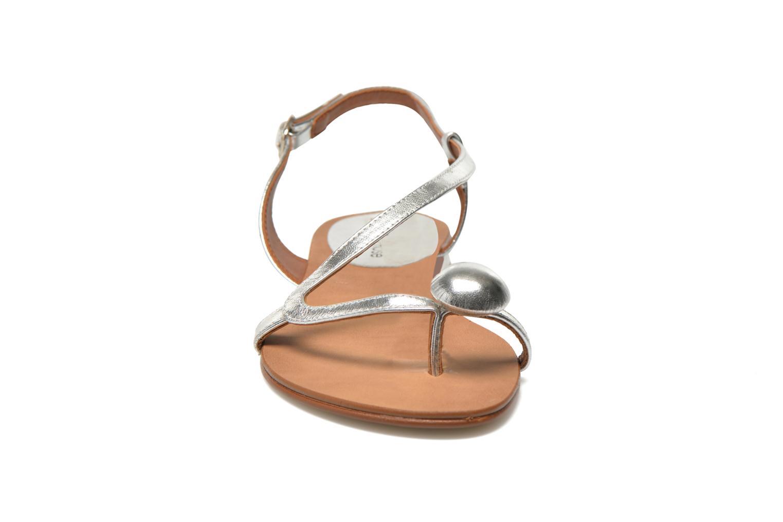 Sandales et nu-pieds Georgia Rose Calindda Argent vue portées chaussures