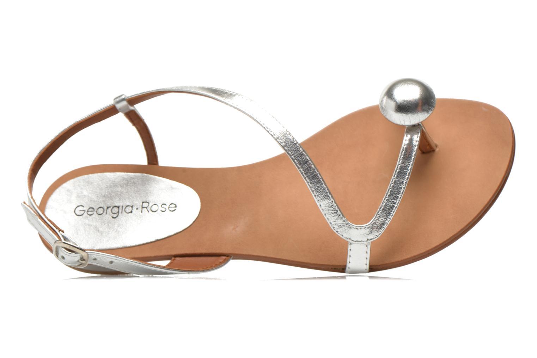 Sandales et nu-pieds Georgia Rose Calindda Argent vue gauche