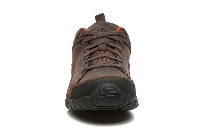 Chaussures de sport Merrell Telluride Lace Marron vue portées chaussures