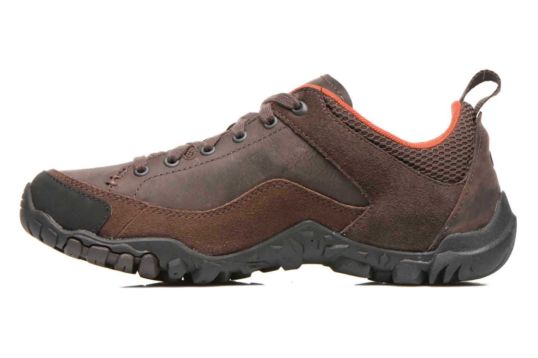 Chaussures de sport Merrell Telluride Lace Marron vue face