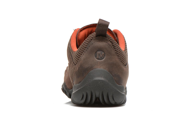 Chaussures de sport Merrell Telluride Lace Marron vue droite