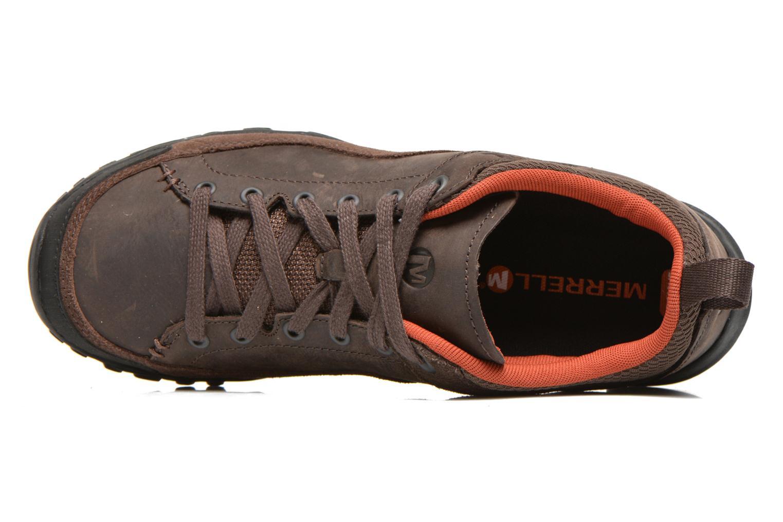 Chaussures de sport Merrell Telluride Lace Marron vue gauche