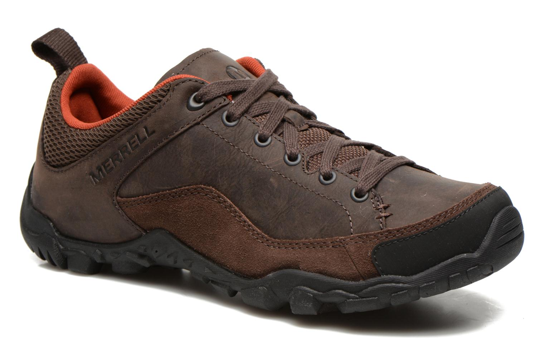 Chaussures de sport Merrell Telluride Lace Marron vue détail/paire