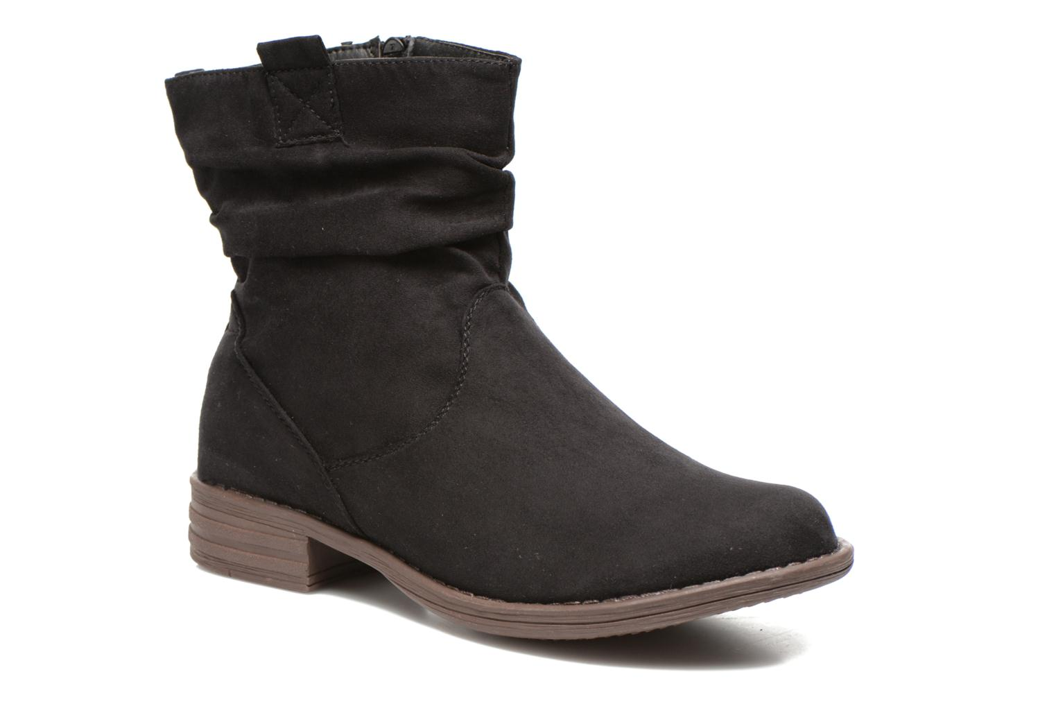 Boots en enkellaarsjes I Love Shoes Thoni Zwart detail