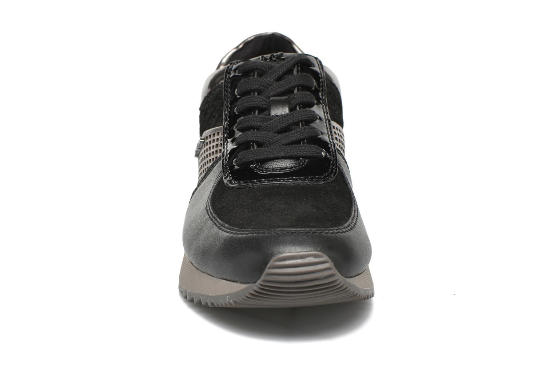 Sneaker Michael Michael Kors Allie trainer schwarz schuhe getragen