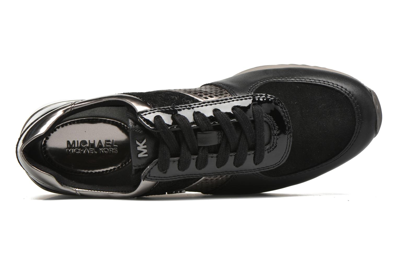 Sneaker Michael Michael Kors Allie trainer schwarz ansicht von links