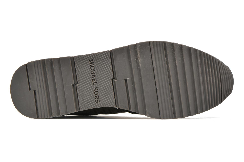 Sneaker Michael Michael Kors Allie Trainer schwarz ansicht von oben
