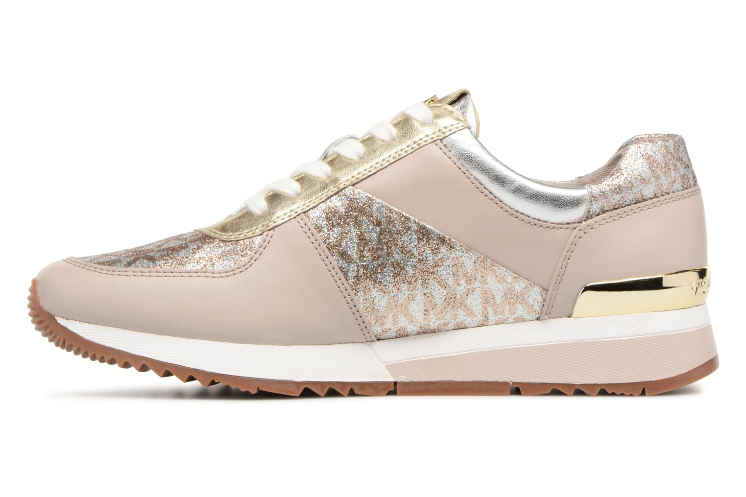 Trainers Michael Michael Kors Allie Trainer Beige front view