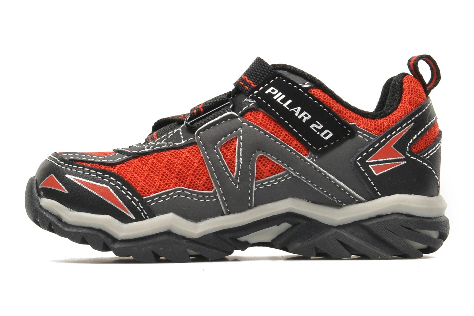 Baskets Skechers Pillar 2.0 / Hawk Rouge vue face