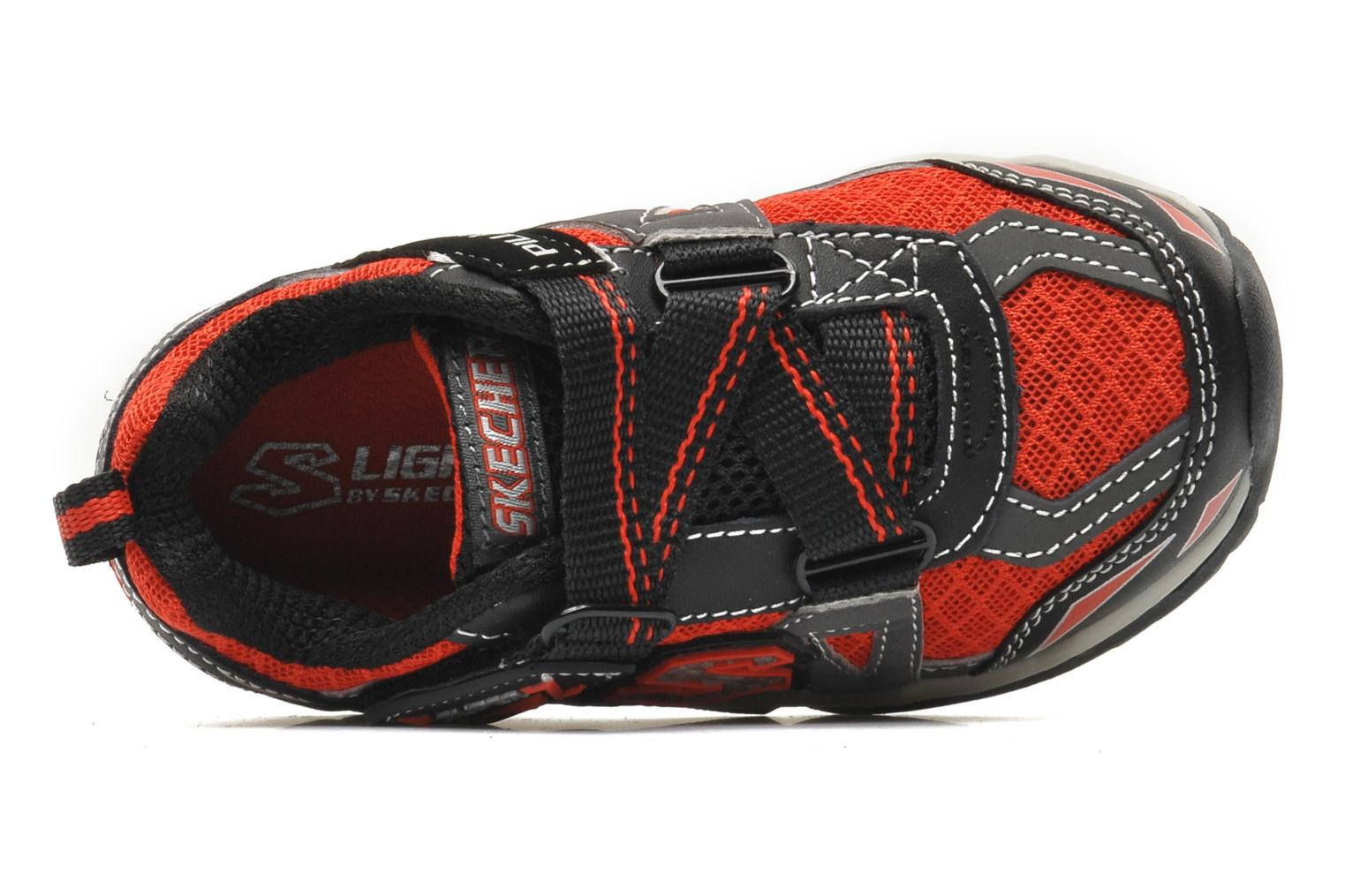 Baskets Skechers Pillar 2.0 / Hawk Rouge vue gauche