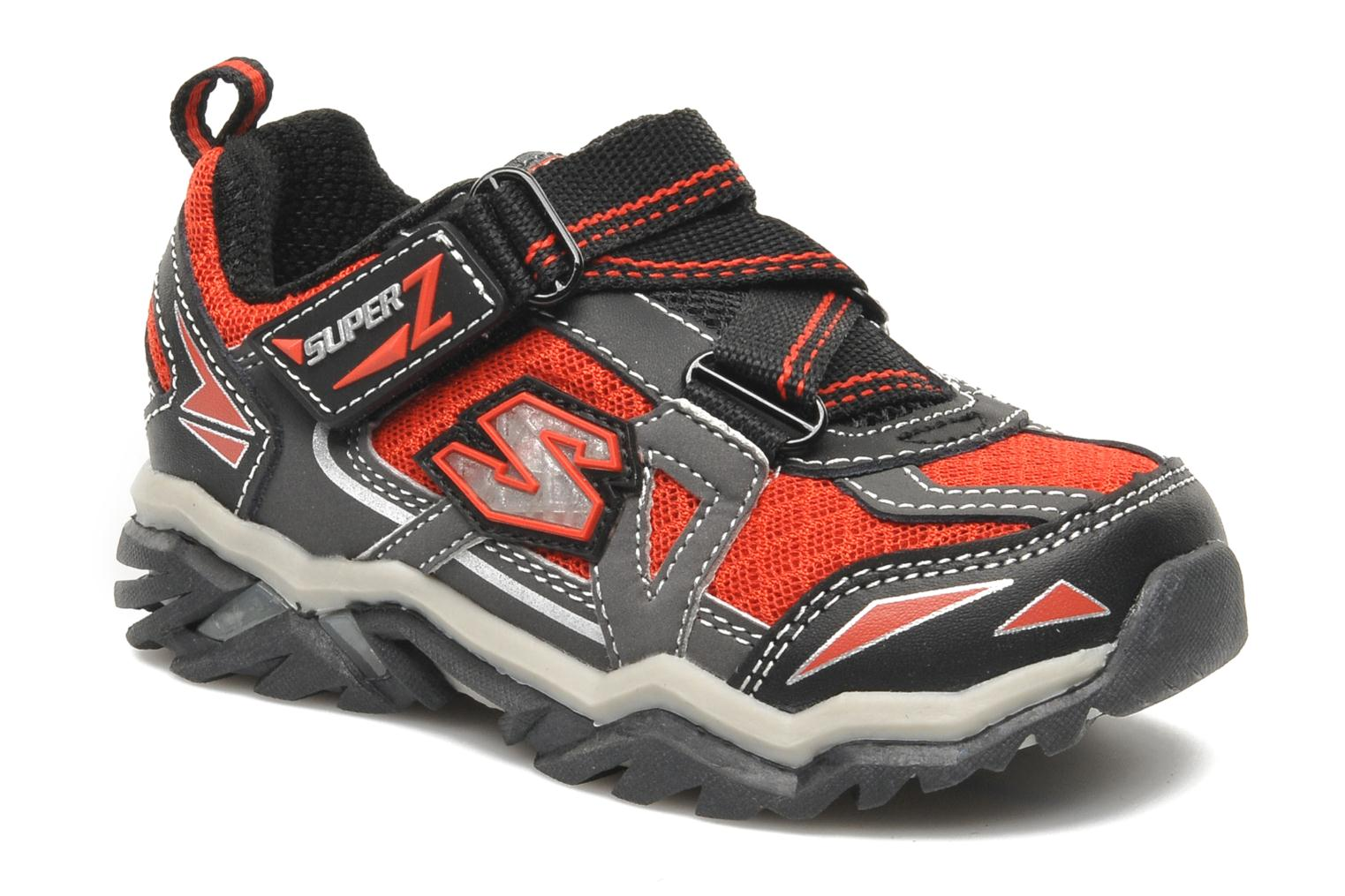 Baskets Skechers Pillar 2.0 / Hawk Rouge vue détail/paire