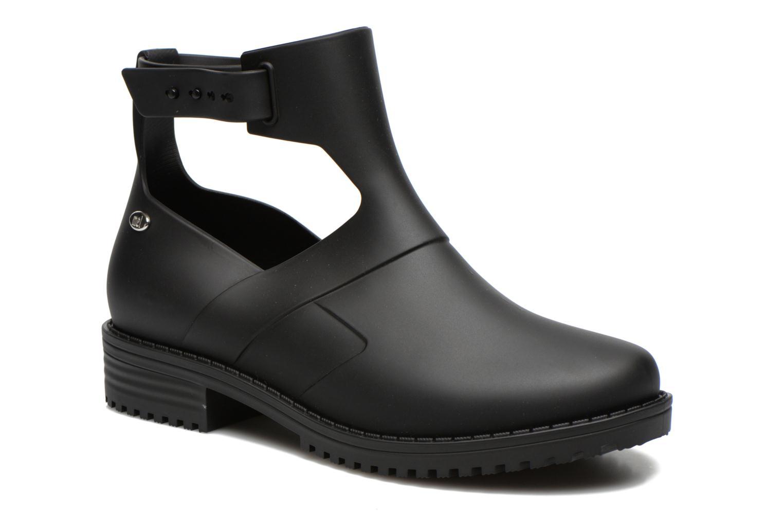 Mel Open Boot Noir/noir