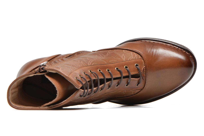 Stivaletti e tronchetti Neosens Rococo S846 Marrone immagine sinistra