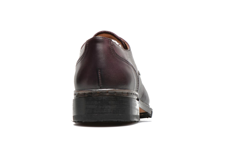 Chaussures à lacets Neosens Hondarribi S898 Violet vue droite