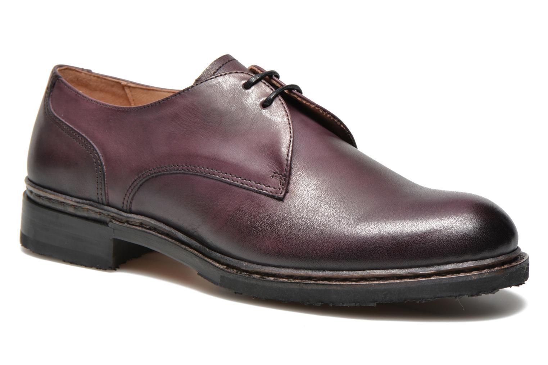 Chaussures à lacets Neosens Hondarribi S898 Violet vue détail/paire