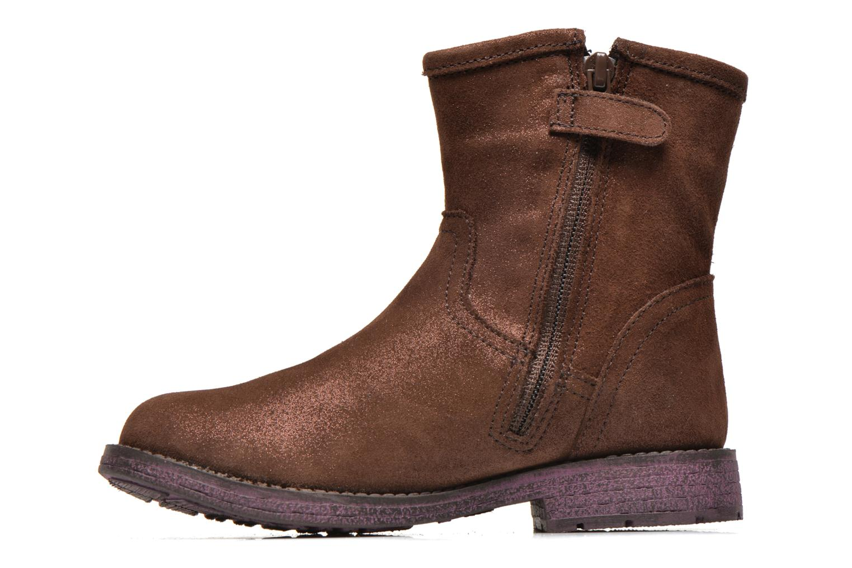 Bottines et boots Agatha Ruiz de la Prada Vagabunda Agatha Marron vue face