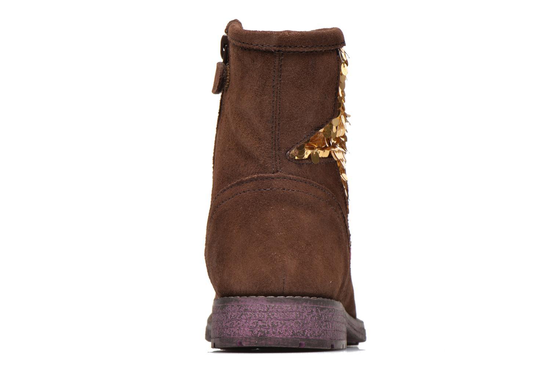 Bottines et boots Agatha Ruiz de la Prada Vagabunda Agatha Marron vue droite