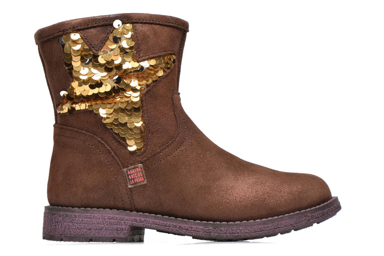 Bottines et boots Agatha Ruiz de la Prada Vagabunda Agatha Marron vue derrière
