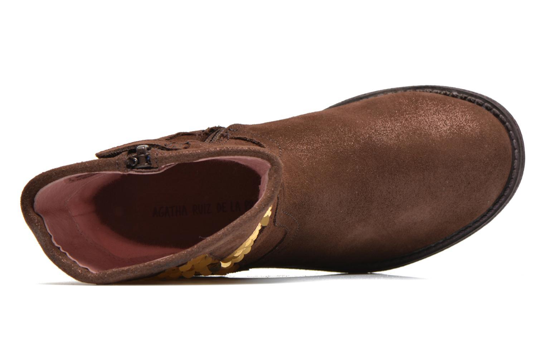 Bottines et boots Agatha Ruiz de la Prada Vagabunda Agatha Marron vue gauche