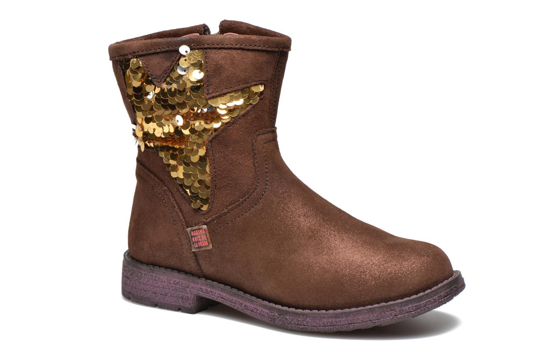 Bottines et boots Agatha Ruiz de la Prada Vagabunda Agatha Marron vue détail/paire
