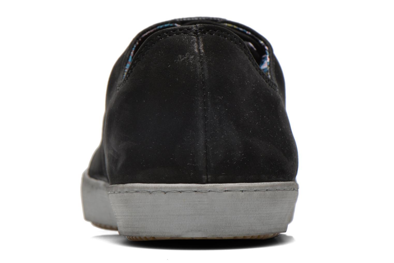 Sneaker Mascaret Gaby 2 Buck schwarz ansicht von rechts