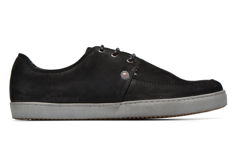 Sneaker Mascaret Gaby 2 Buck schwarz ansicht von hinten