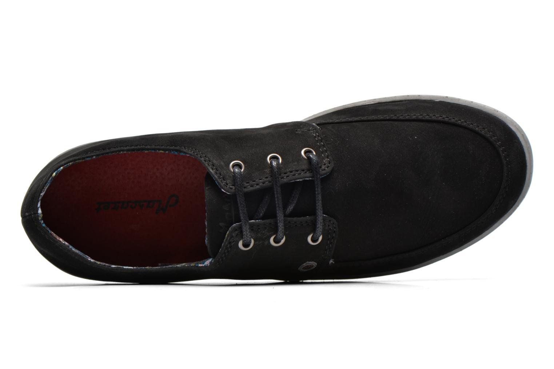 Sneaker Mascaret Gaby 2 Buck schwarz ansicht von links
