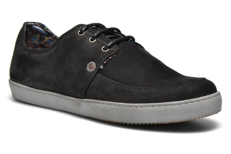 Sneaker Mascaret Gaby 2 Buck schwarz detaillierte ansicht/modell