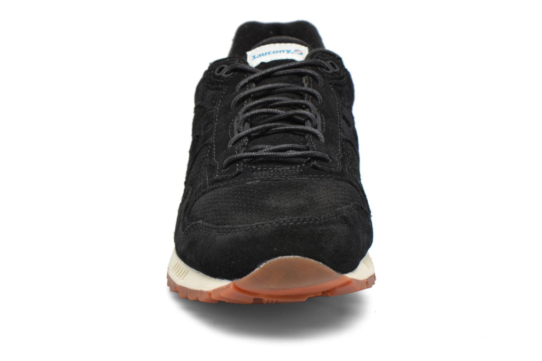 Baskets Saucony Shadow 5000 Noir vue portées chaussures