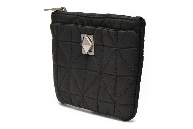 Kleine lederwaren Sonia Rykiel LE CLOU NYLON Trousse plate Zwart model