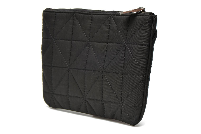 Portemonnaies & Clutches Sonia Rykiel LE CLOU NYLON Trousse plate schwarz ansicht von rechts