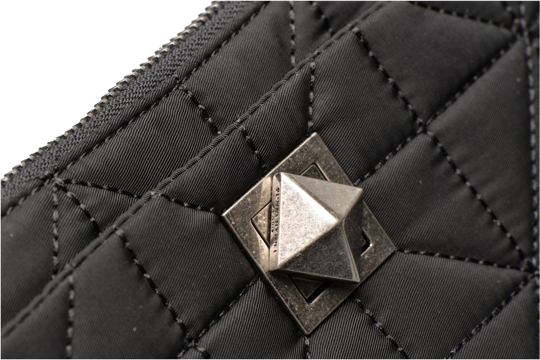 Portemonnaies & Clutches Sonia Rykiel LE CLOU NYLON Trousse plate schwarz ansicht von links