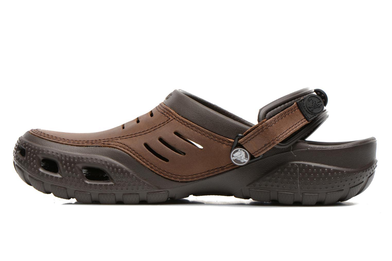 Sandalen Crocs Yukon Sport Bruin voorkant