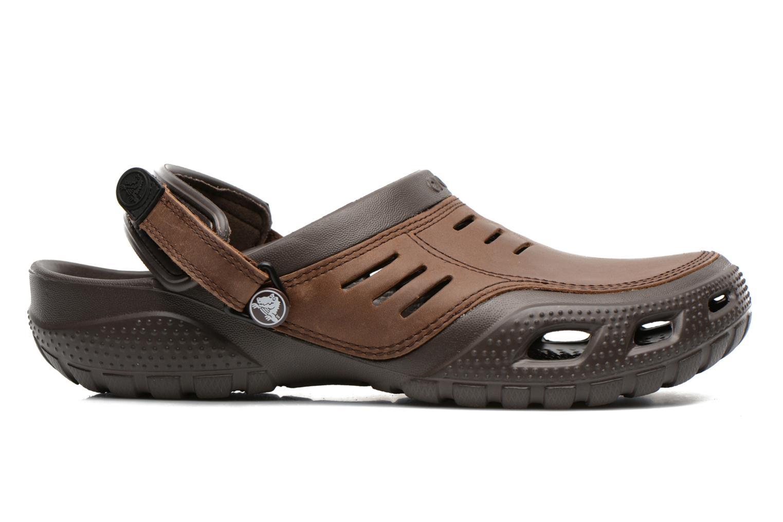 Sandalen Crocs Yukon Sport braun ansicht von hinten