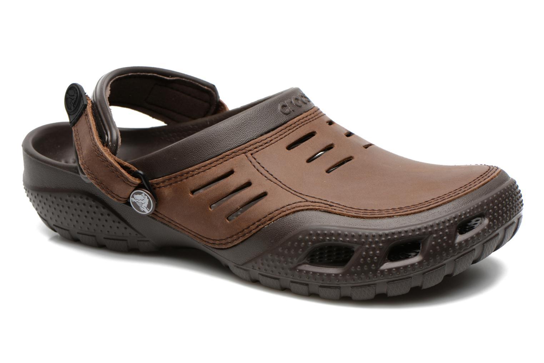 Sandalen Crocs Yukon Sport braun detaillierte ansicht/modell