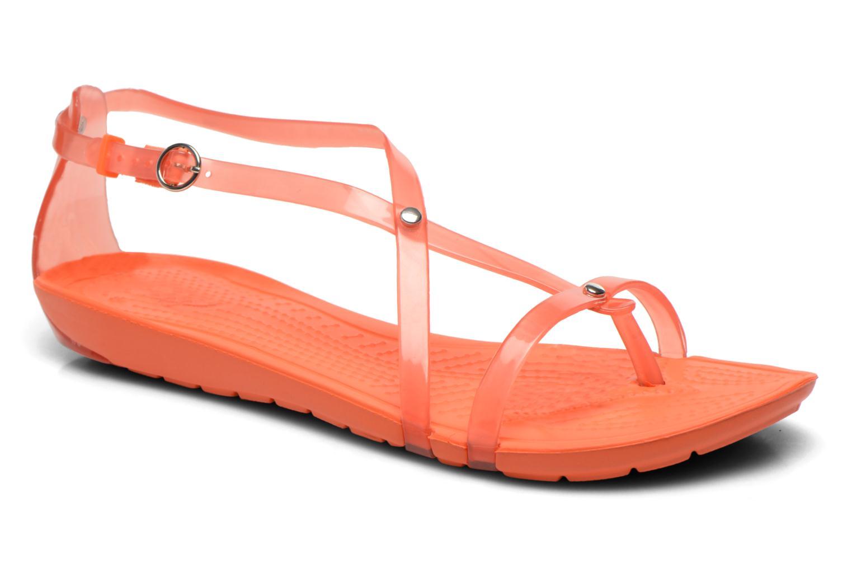 5c295cdf4fe4 Sandalen Crocs Really Sexi Flip Sandal Women orange detaillierte  ansicht modell