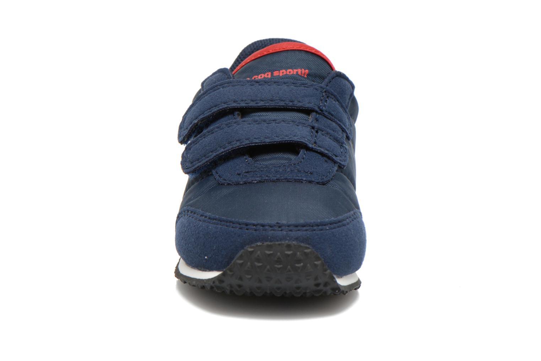 Sneaker Le Coq Sportif Racerone INF blau schuhe getragen