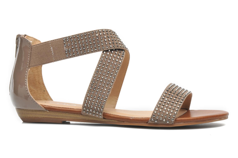 Sandales et nu-pieds Aldo Kardhitsa Beige vue derrière