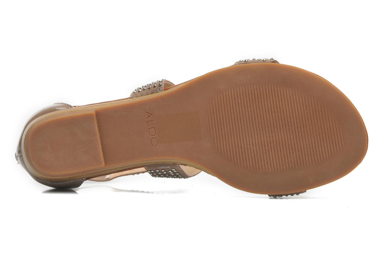 Sandales et nu-pieds Aldo Kardhitsa Beige vue haut