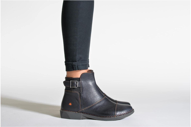 Bottines et boots Art Bergen 917 Bleu vue bas / vue portée sac