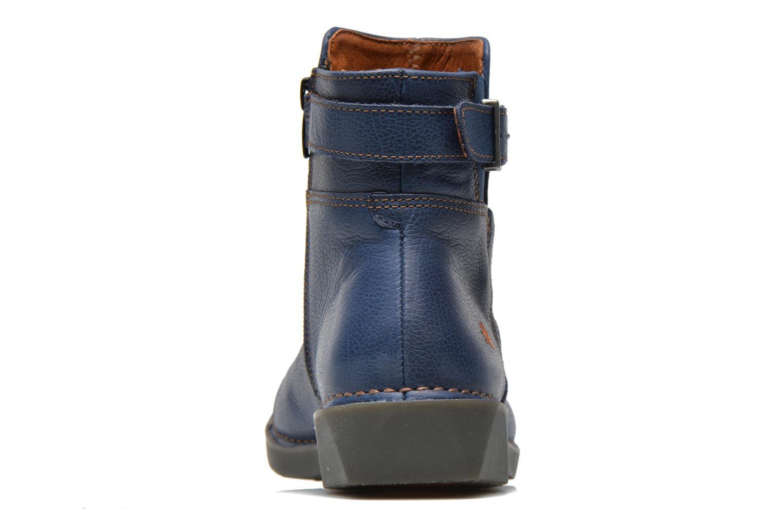 Bottines et boots Art Bergen 917 Bleu vue droite