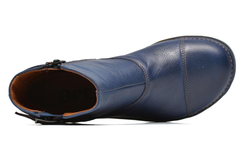 Bottines et boots Art Bergen 917 Bleu vue gauche