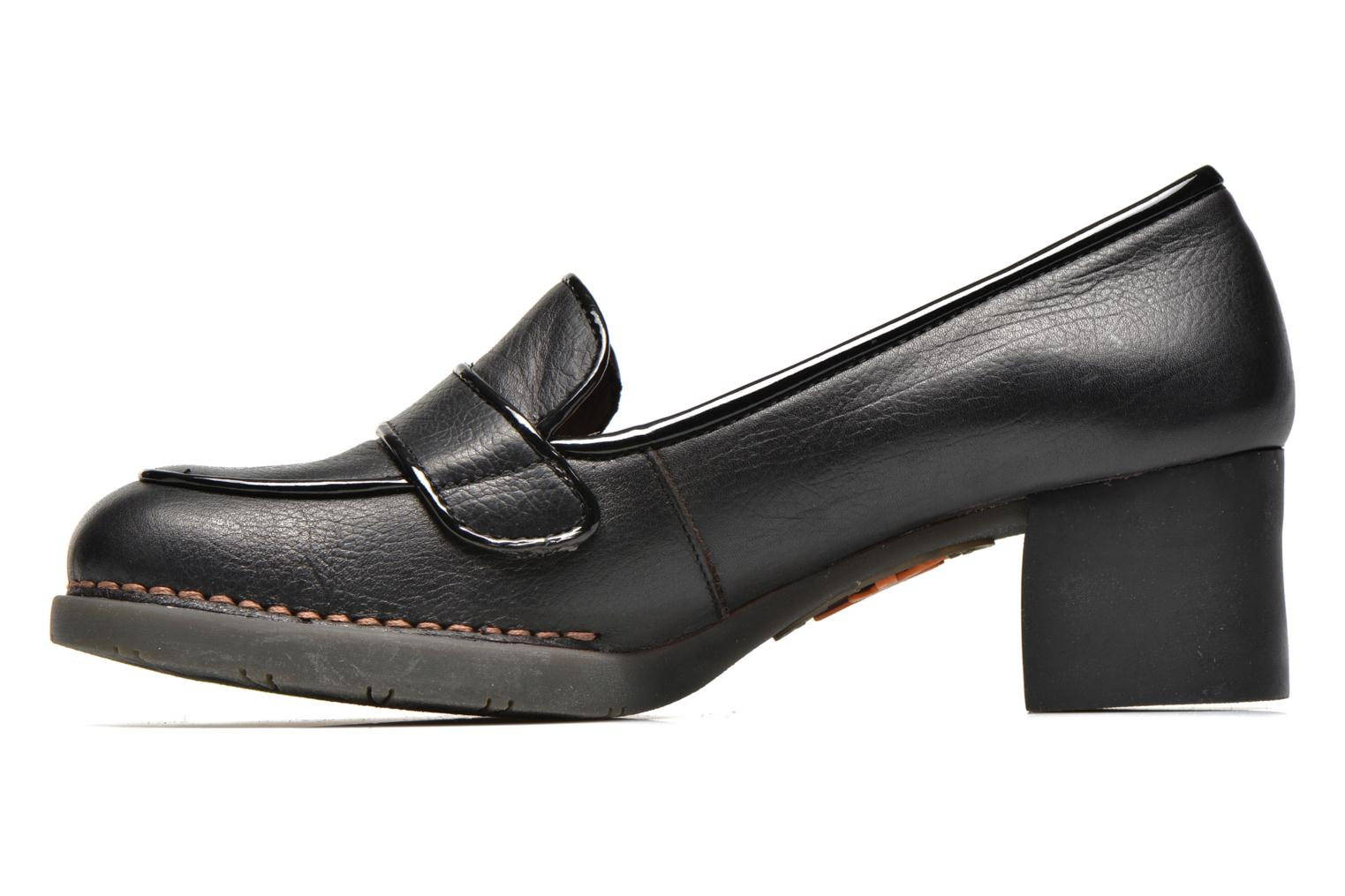 Mocassins Art Bristol 0076 Noir vue face