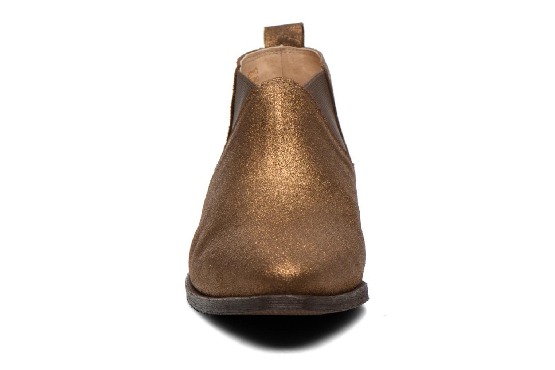 Bottines et boots Schmoove Woman Impala Low Boots Or et bronze vue portées chaussures