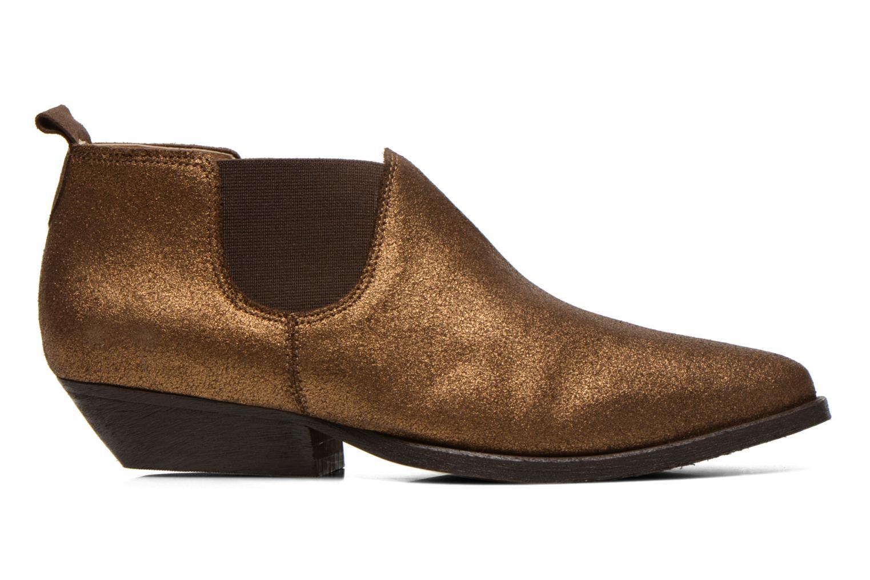 Bottines et boots Schmoove Woman Impala Low Boots Or et bronze vue derrière