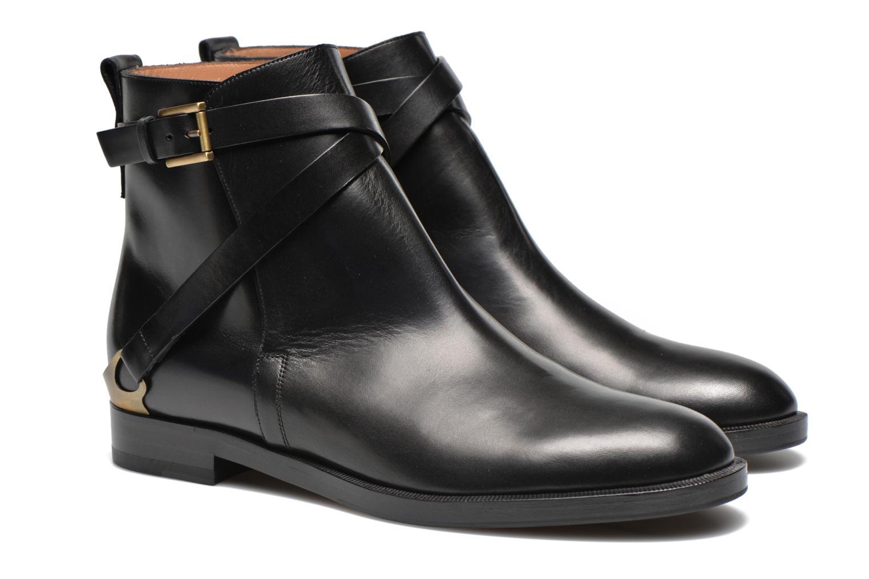 Bottines et boots Fratelli Rossetti Magenta Beattles Noir vue 3/4