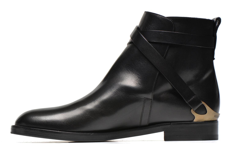 Bottines et boots Fratelli Rossetti Magenta Beattles Noir vue face