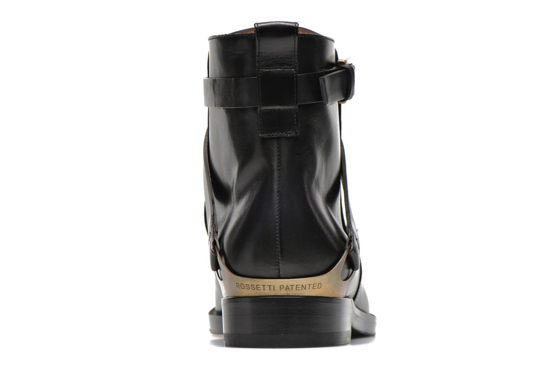 Boots en enkellaarsjes Fratelli Rossetti Magenta Beattles Zwart rechts
