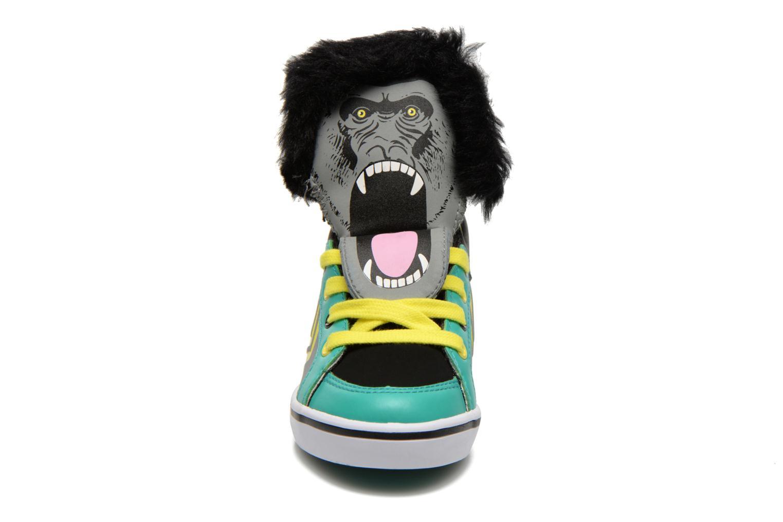 Sneaker Feiyue Delta Mid Animal 2 grau 3 von 4 ansichten